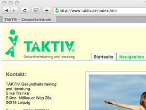 2007 Webseite